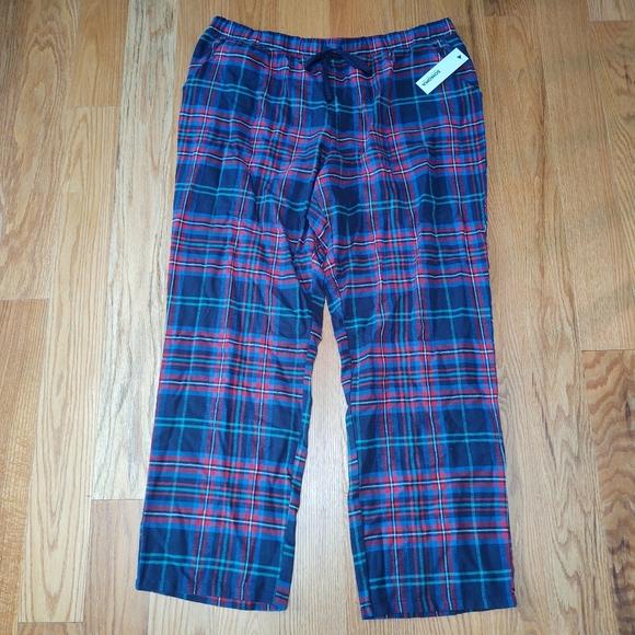 🎃Sonoma Intimates plaid flannel sleep pants